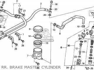 Honda Cbr1100xx Super Blackbird 1997 Germany / Kph parts