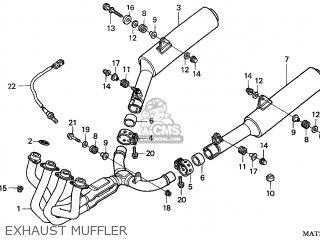 Honda Cbr1100xx Superblackbird 1997 (v) France / Kph parts
