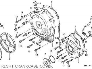 Honda CBR1100XX SUPERBLACKBIRD 1998 (W) CANADA / KMH parts