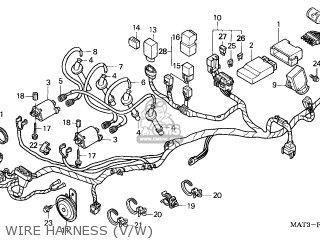 Honda CBR1100XX SUPERBLACKBIRD 1998 (W) SWEDEN / KPH parts
