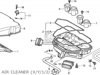 Honda CBR1100XX SUPERBLACKBIRD 2000 (Y) FRANCE / KPH parts
