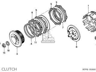 Honda CBR125R 2005 (5) EUROPEAN DIRECT SALES parts lists