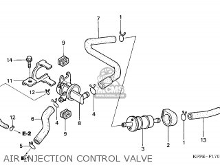 Honda CBR125R 2005 (5) KOREA parts lists and schematics
