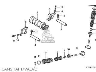 Honda CBR125RS 2006 (6) EUROPEAN DIRECT SALES parts lists