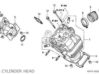 Honda CBR125RS 2006 (6) FRANCE CMF parts lists and schematics