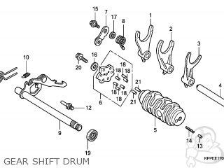 Honda CBR125RW 2007 (7) ENGLAND parts lists and schematics