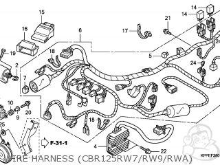 Honda CBR125RW 2007 (7) EUROPEAN DIRECT SALES parts lists