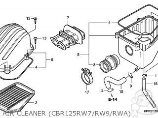 Honda CBR125RW 2007 (7) FRANCE / CMF parts lists and