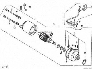 Honda CBR250F-YA 1986 (G) JAPAN MC14-100 parts lists and