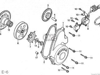 Honda CBR250R 1987 (H) JAPAN MC17-100 parts lists and