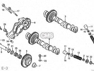 Honda Cbr250r 1988 (j) Japan Mc19-100 parts list