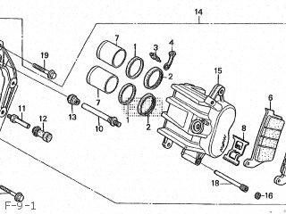 Honda CBR250R 1988 (J) JAPAN MC19-100 parts lists and