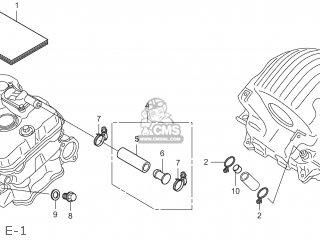 Honda CBR250R 2012 (C) HRC JDM parts lists and schematics