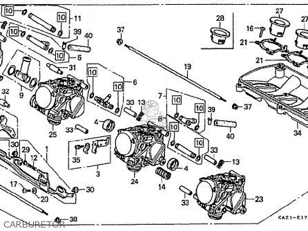 Honda CBR250RR MC22 1990 (L) JAPAN parts lists and schematics