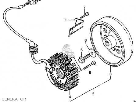 Honda Cbr250rr Mc22 1990 (l) Japan parts list partsmanual