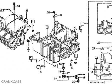 Honda CBR250RR MC22 1992 (N) JAPAN parts lists and schematics