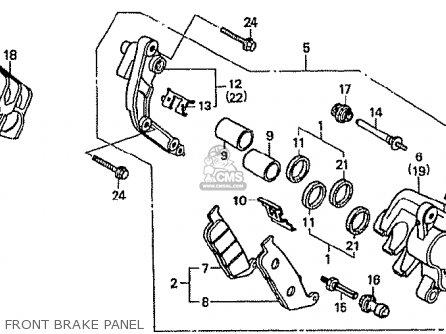 Honda CBR250RR MC22 1994 (R) JAPAN parts lists and schematics