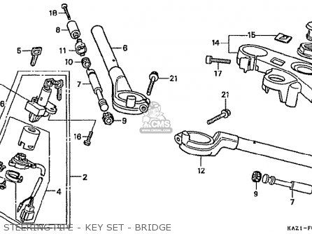 Honda CBR250RR MC22 1994 (R) JAPAN parts lists and schematics
