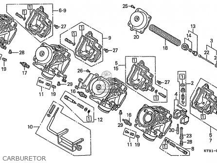 Honda Cbr400r 1986 (g) Japanese Domestic / Nc23-100 parts