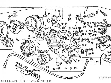 Honda CBR400RR 1988 (J) JAPANESE DOMESTIC / NC23-102 parts