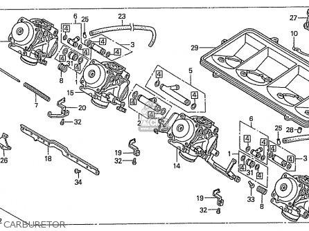 Honda Cbr400rr 1989 (k) Japanese Domestic / Nc23-109 parts