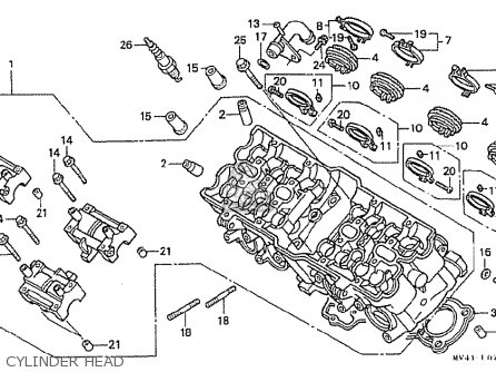 Honda CBR400RR 1992 (N) JAPANESE DOMESTIC / NC29-105 parts