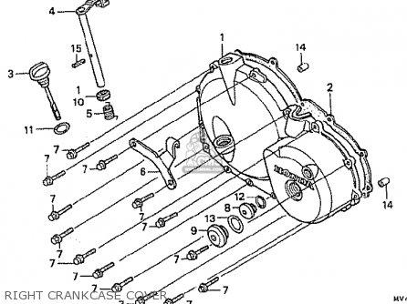 Honda CBR400RR 1992 (N) JAPANESE DOMESTIC / NC29-105 parts