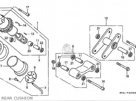 Honda Cbr400rr 1994 (r) Japanese Domestic / Nc29-110 parts