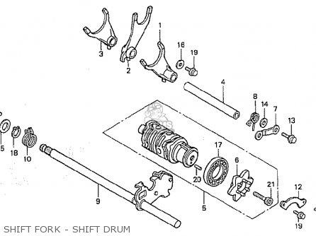 Honda Cbr400rrl (nc29-100) Japanese Domestic parts list
