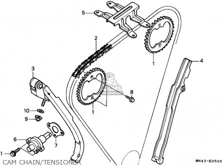 Honda Cbr600f 1987 Sweden / Kph parts list partsmanual