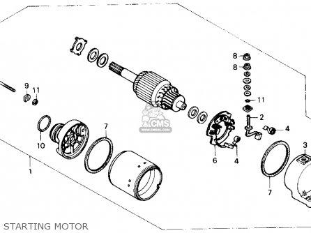 Honda Cbr600f 1990 Hurricane 600 Usa parts list