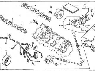 Honda CBR600F 1999 HRC JAPAN parts lists and schematics
