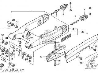 Honda Cbr600f 1999 Korea parts list partsmanual partsfiche
