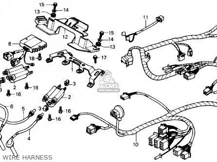 Honda Cbr600f Cbr 1988 Usa parts list partsmanual partsfiche