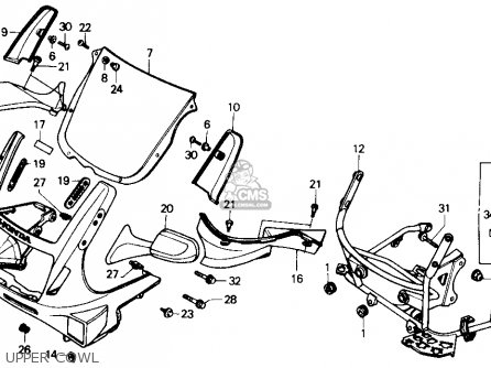 Honda Cbr600f Cbr 1989 Usa parts list partsmanual partsfiche