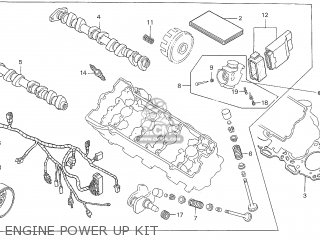 Honda CBR600F F4 HRC ENGINE POWER UP KIT AMA SS600