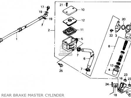 Honda Cbr600f Hurricane 1987 (h) Usa parts list