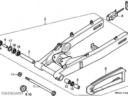 Honda CBR600F HURRICANE 1988 (J) CANADA / MKH parts lists