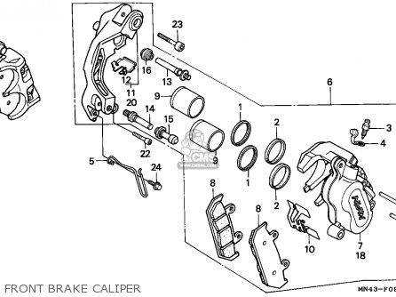 Honda CBR600F HURRICANE 1988 (J) SPAIN / KPH parts lists