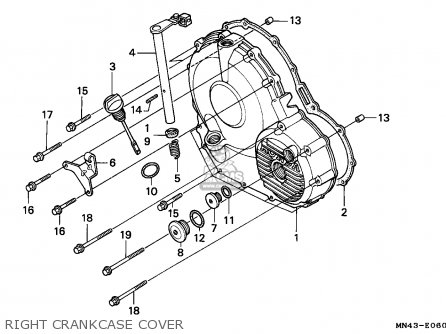 Honda CBR600F HURRICANE 1989 (K) GERMANY / KPH parts lists