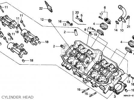 Honda CBR600F HURRICANE 1990 (L) NORWAY / KPH parts lists