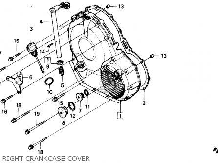 Honda CBR600F HURRICANE 1990 (L) USA parts lists and