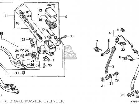 Honda CBR600F HURRICANE 1992 (N) SPAIN / KPH parts lists