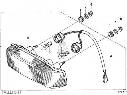 Honda CBR600F HURRICANE 1993 (P) EUROPEAN DIRECT SALES