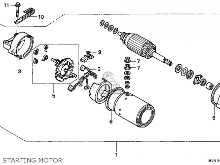 Honda CBR600F HURRICANE 1993 (P) SPAIN / KPH parts lists