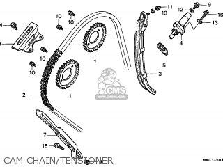 Honda CBR600F HURRICANE 1998 (W) GERMANY / 50P parts lists