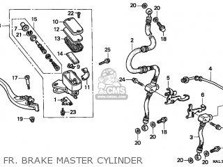 Honda CBR600F HURRICANE 1998 (W) MEXICO parts lists and