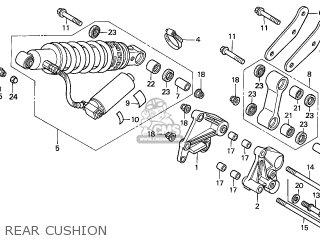 Honda CBR600F HURRICANE 2001 (1) FRANCE parts lists and