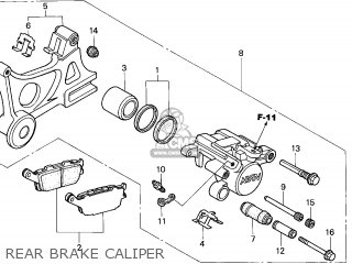 Honda CBR600F HURRICANE 2005 (5) AUSTRALIA parts lists and