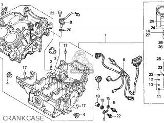Honda CBR600F HURRICANE 2005 (5) ENGLAND parts lists and